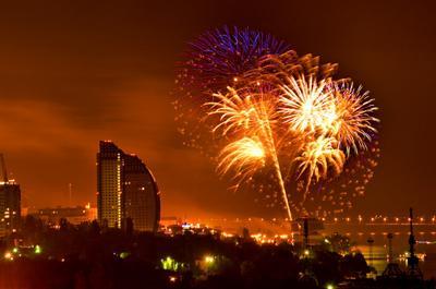 День Победы салют, фейерверк, праздник, день победы, волгоград, сталинград,