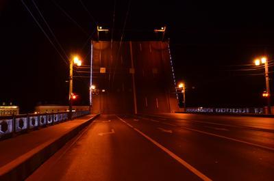 Спокойной ночи! Мост разводной мост фонари спокойной ночи спать закрыто