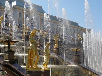 *** Петродворец фонтаны