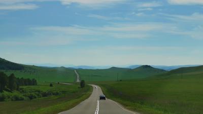 Дороги Хакасии