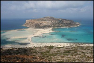 Полуостров tigani о. Крит Греция 2016 Крит пейзаж греция