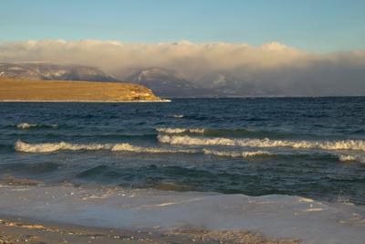 Барашки- 2 байкал в декабре ольхон малое море залив тогай