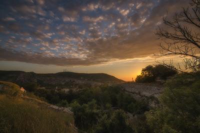 Инкерман, Каламита Крым пейзаж закат