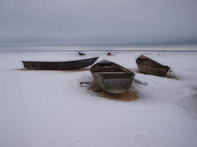 3+2 Лодки зима
