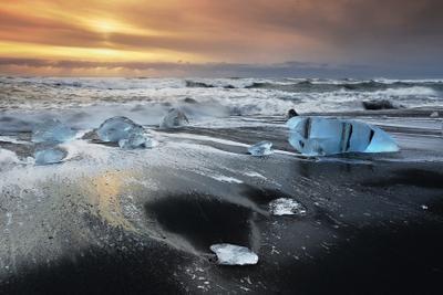 Льды Исландии  исландия