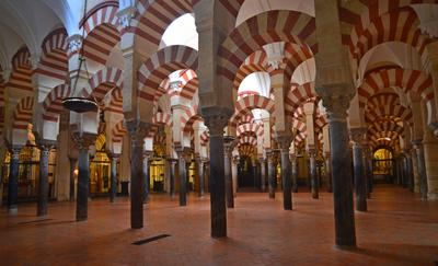 В мечети Мескита Кордова Испания мечеть Мескита