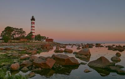 Шепелевский маяк маяк рассвет