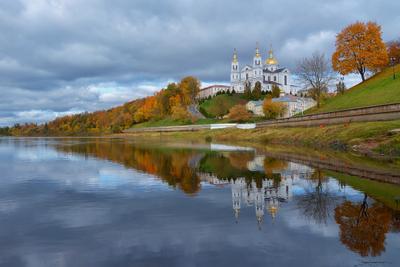 Вид на Успенский Собор в Витебске
