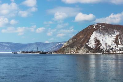 Порт Байкал и мыс Устьянский байкал порт листвянка озеро ангара