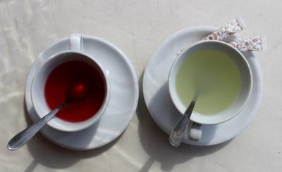 *** утро чай прохлада
