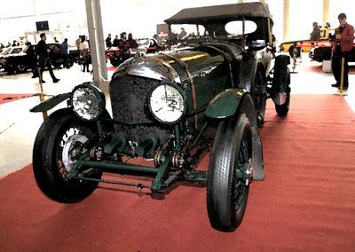 1929. Bentley Олдтаймер-Галерея ретро автоэкзотика Bentley