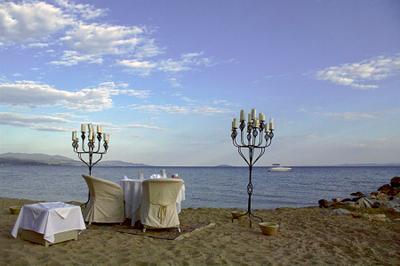 Все включено пляж море катер зонтики вечер интим