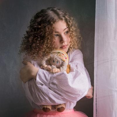 Настенька девочка портрет