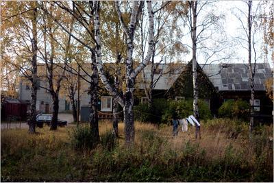 *Осень в провинциальном городе* фотография путешествия Карелия осень город Фото.Сайт Светлана Мамакина Lihgra Adventure