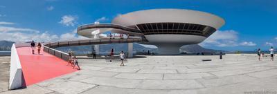 MAC by Oscar Niemeyer. modern, architecture, Niemeyer,Brazil, Niteroi, Rio de Janeiro
