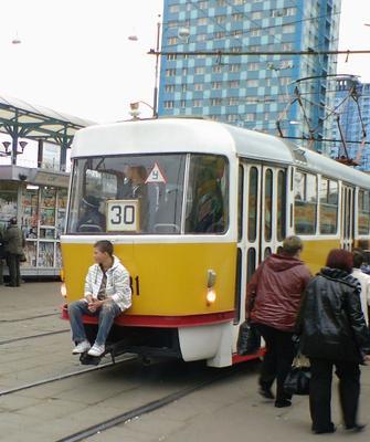 Трамвайный ковбой