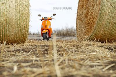 Vespa vespa scooter