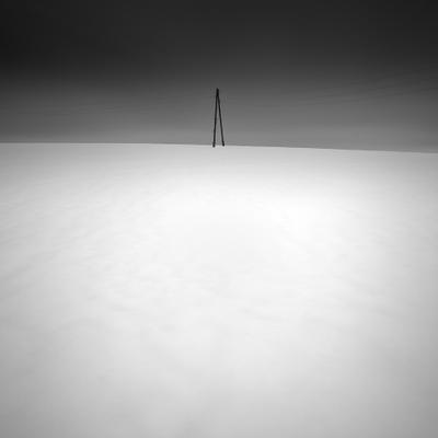 Отмерив циркулем, зима ушла циркуль снег зима весна поле longexposure minimalism минимализм nd1000