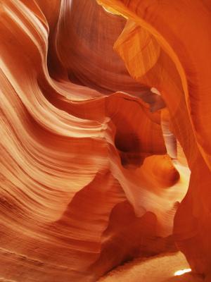 В Нижнем каньоне Антилопы. Америка озеро природа скалы