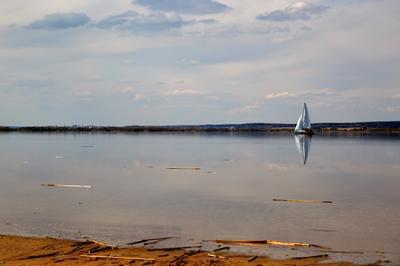 покой яхта море покой тишина природа