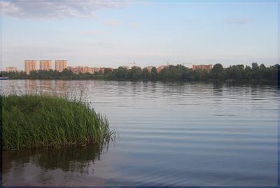 **** Река, Лето