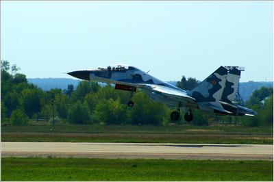 Су-30 Су-30 авиация самолёт взлёт Жуковский МАКС-2007