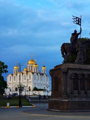 Свято-Успенский Кафедральный собор  г. Владимир г.Владимир Успенский собор храм