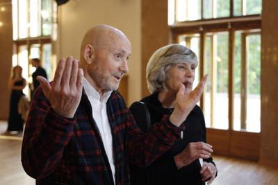 Филипп Жанти и Мари Андервуд жанти андервуд театр портрет чеховский фестиваль мэтр классика художник хореограф режиссёр