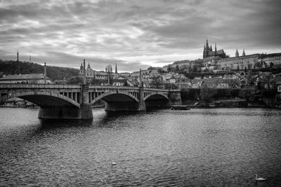 Манесов мост в Праге прага чехия