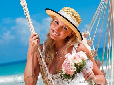 Карибские свадебные 2 свадьба Доминиканская республика  Доминикана океан невеста девушка