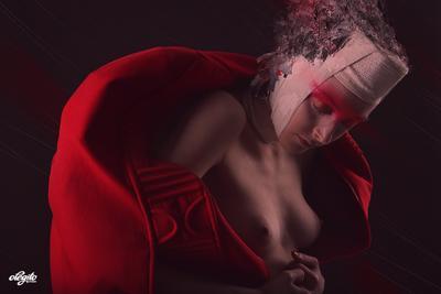 """""""La silhouette rouge"""" moda, мода, fashion"""