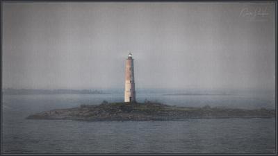 Маяк на Ладоге Ладожское озеро маяк