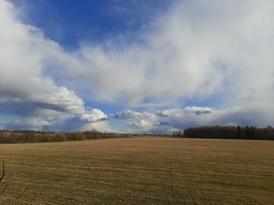 Огромное небо, одно на всех! небо пейзаж природа весна