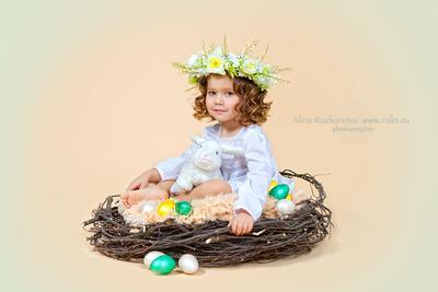 С Праздником! детский фотограф, детский портрет, пасха, Родионова Алина, Ralin