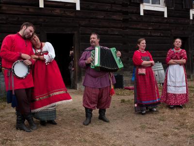 сибиряки в омерике russian kolefornia
