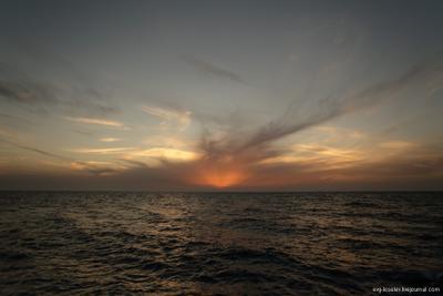 Вечерком.. (v2) закат, море