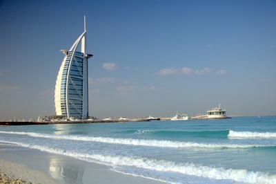 Виды Дубая парус дубай Burj Al Arab