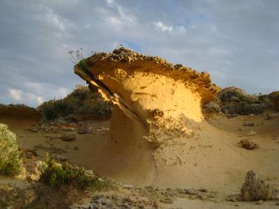 Вулканический кусочек Мальты. Мальта пейзаж скалы дюны песок