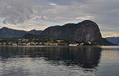 Вечер на побережье Норвегии