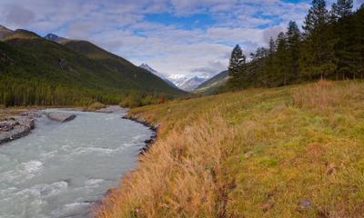 Йедыгем горы алтай белуха река йедыгем