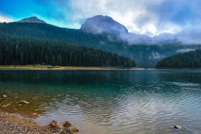 Pacification горы высота озеро тишина лес путешествие