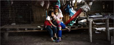 Длинношеее племя Карен. Север Тайланда Longneck,Karen,hailand
