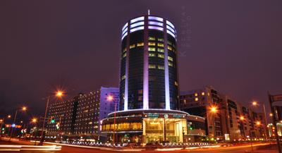 Hotel Diplomat. Astana. 2009 Night, Hotel, Kseniya, Astana, Kazakhstan