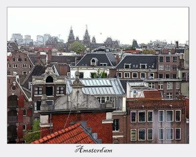 Там, где живет Карлсон (1) Крыша, Карлсон, Амстердам, Голландия, Нидерланды