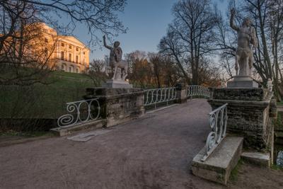 Кентавров мост, Павловск павловск павловский парк мост кентавры весна