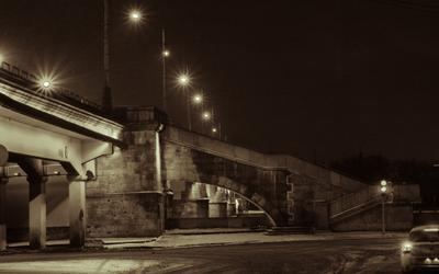 вид на Новоспасский мост