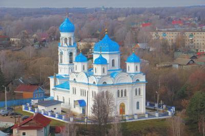 Михайло-Архангельская (Благовещенская) церковь Торжок Михайло-Архангельская Благовещенская церковь