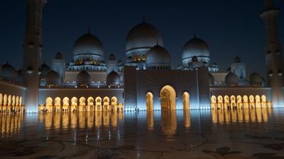 ***мечеть шейха Зайда Абу Даби