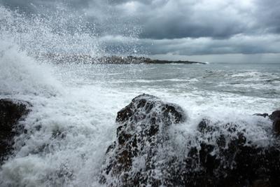 шторм море шторм