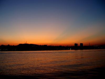 закат в Феодосии море закат